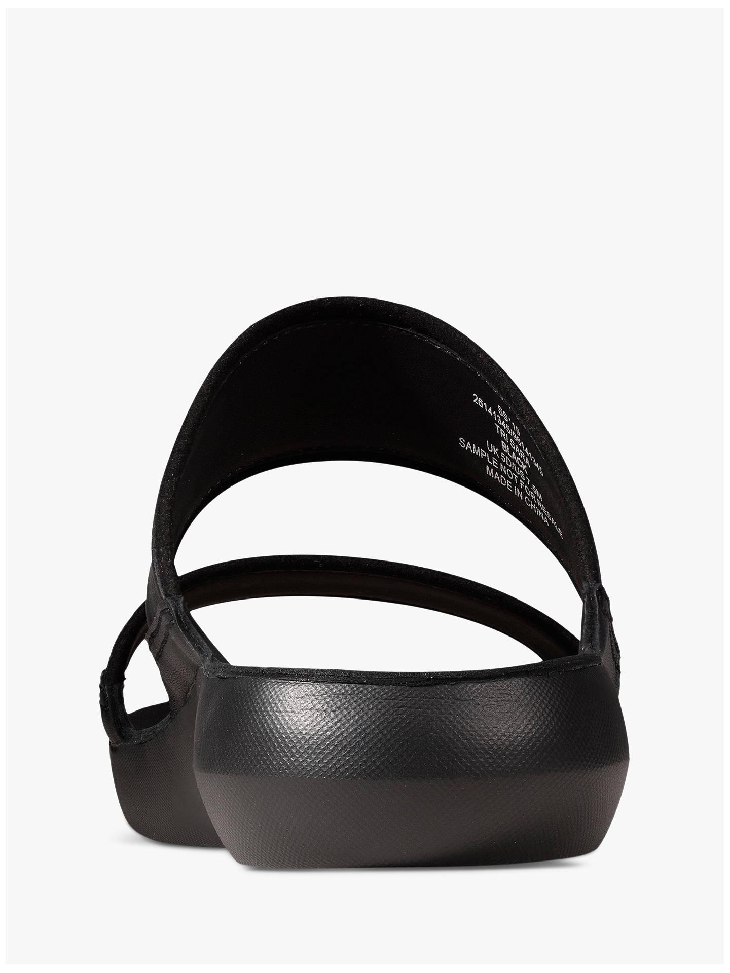 3c0f5606073 Clarks Tri Sara Double Strap Slide Sandals at John Lewis   Partners
