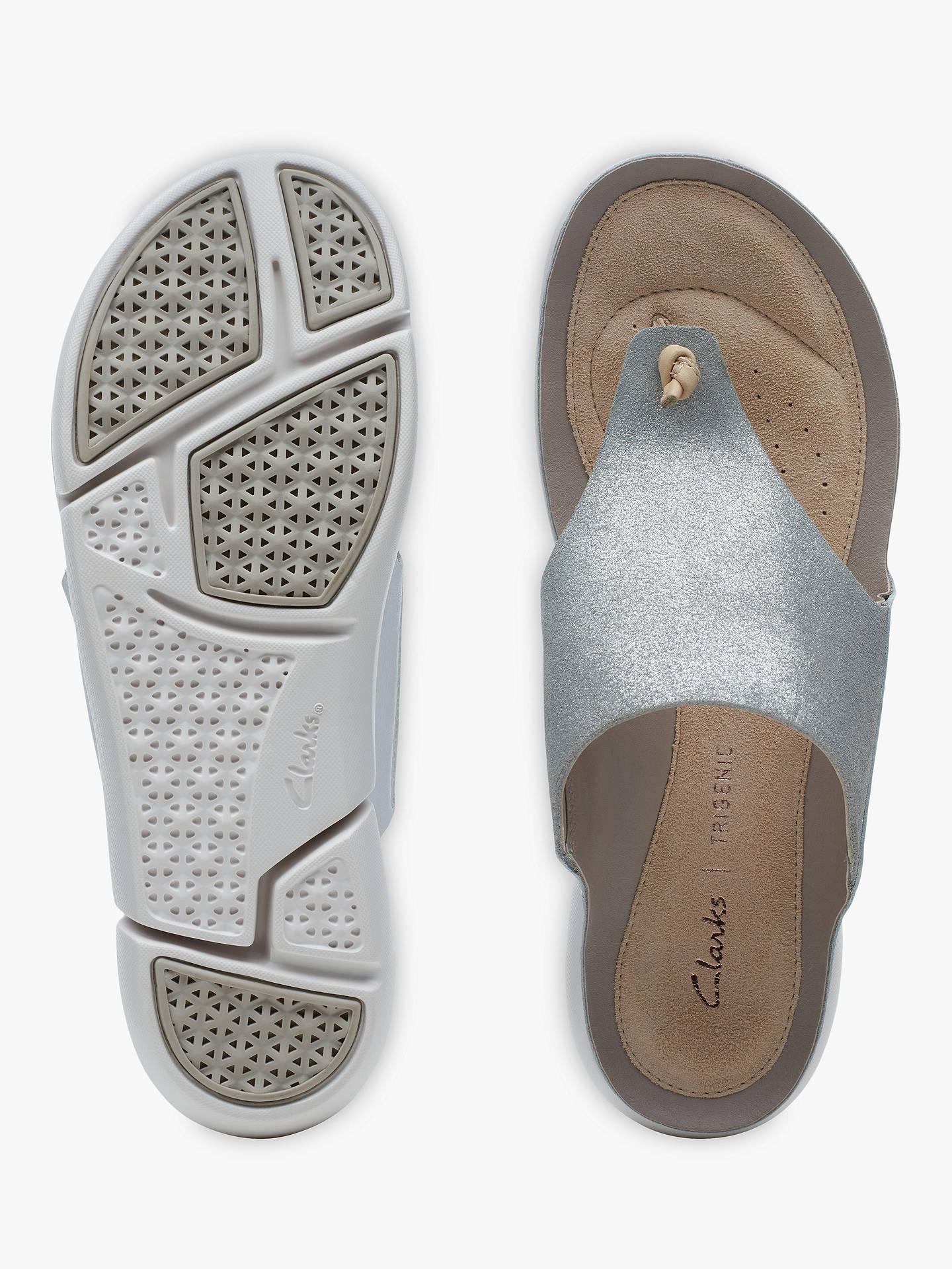 509e81deffbc Clarks Tri Carmen Toe Post Sandals at John Lewis   Partners