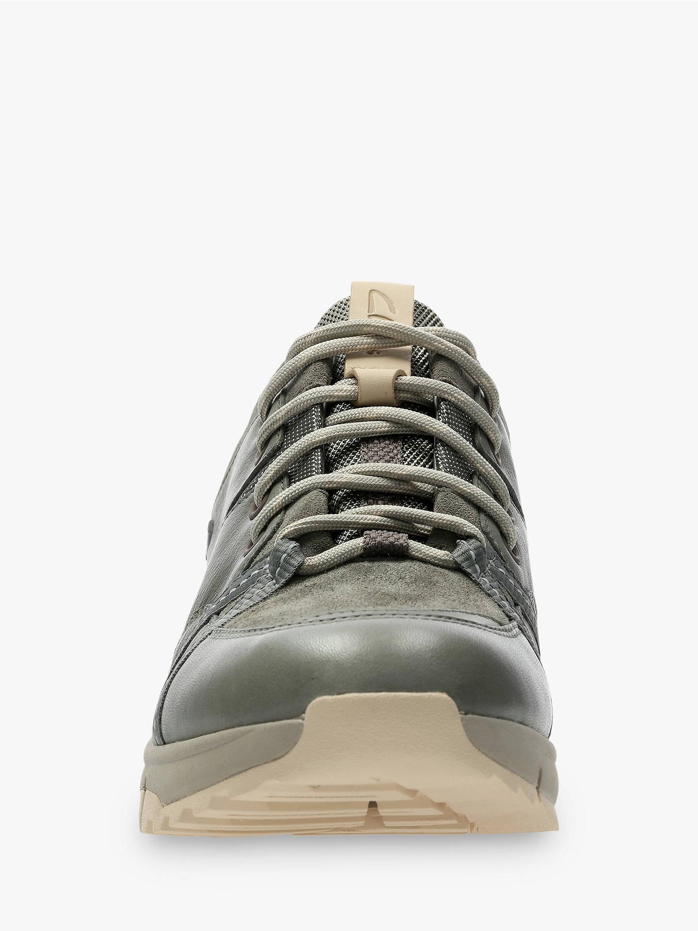4c324ef9 ... Buy Clarks Tri Trek GORE-TEX Trainers, Khaki Leather, 3 Online at  johnlewis ...