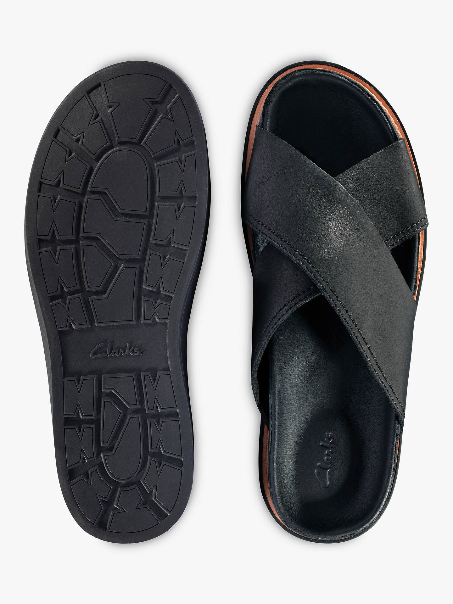 9ccc23b13533 Clarks Trace Drift Sandals at John Lewis   Partners