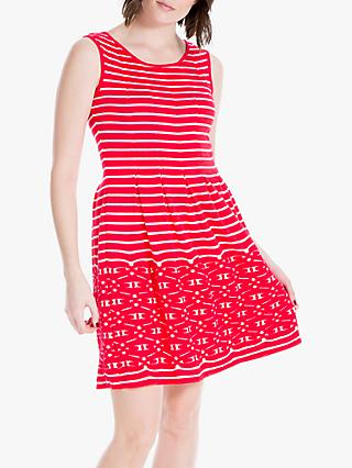 158c6b2a33d9ad Max Studio Sleeveless Stripe Jersey Dress