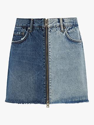 0b5d640bb5788 AllSaints Lomo Skirt