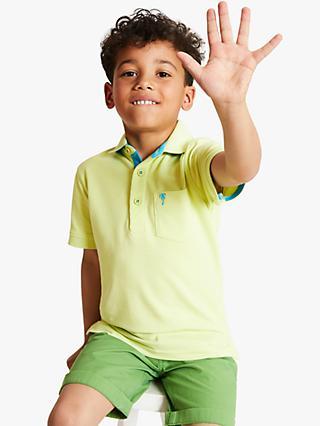 975e0746 John Lewis & Partners Boys' Short Sleeve Polo Shirt, ...