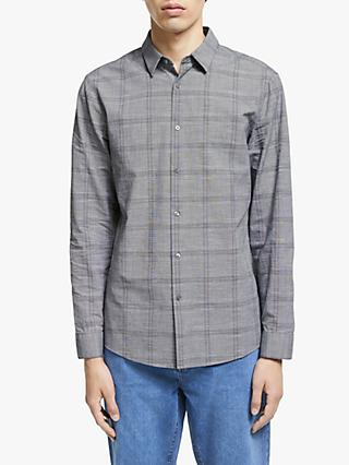 Kin Mono Check Shirt, Black
