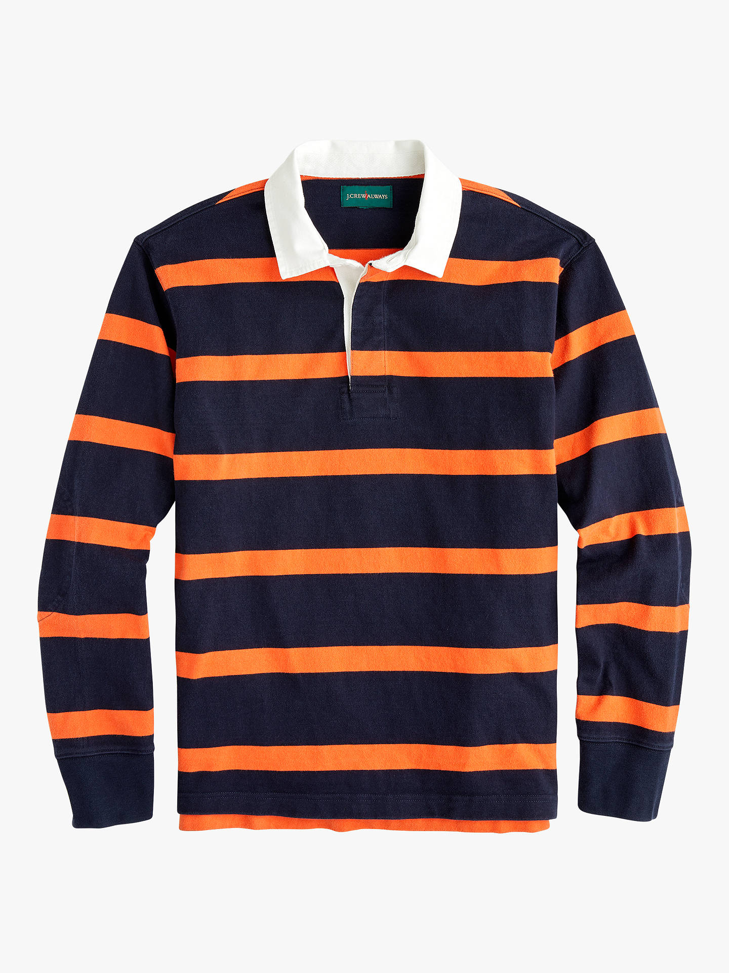 James Stripe Long Sleeve Rugby Shirt