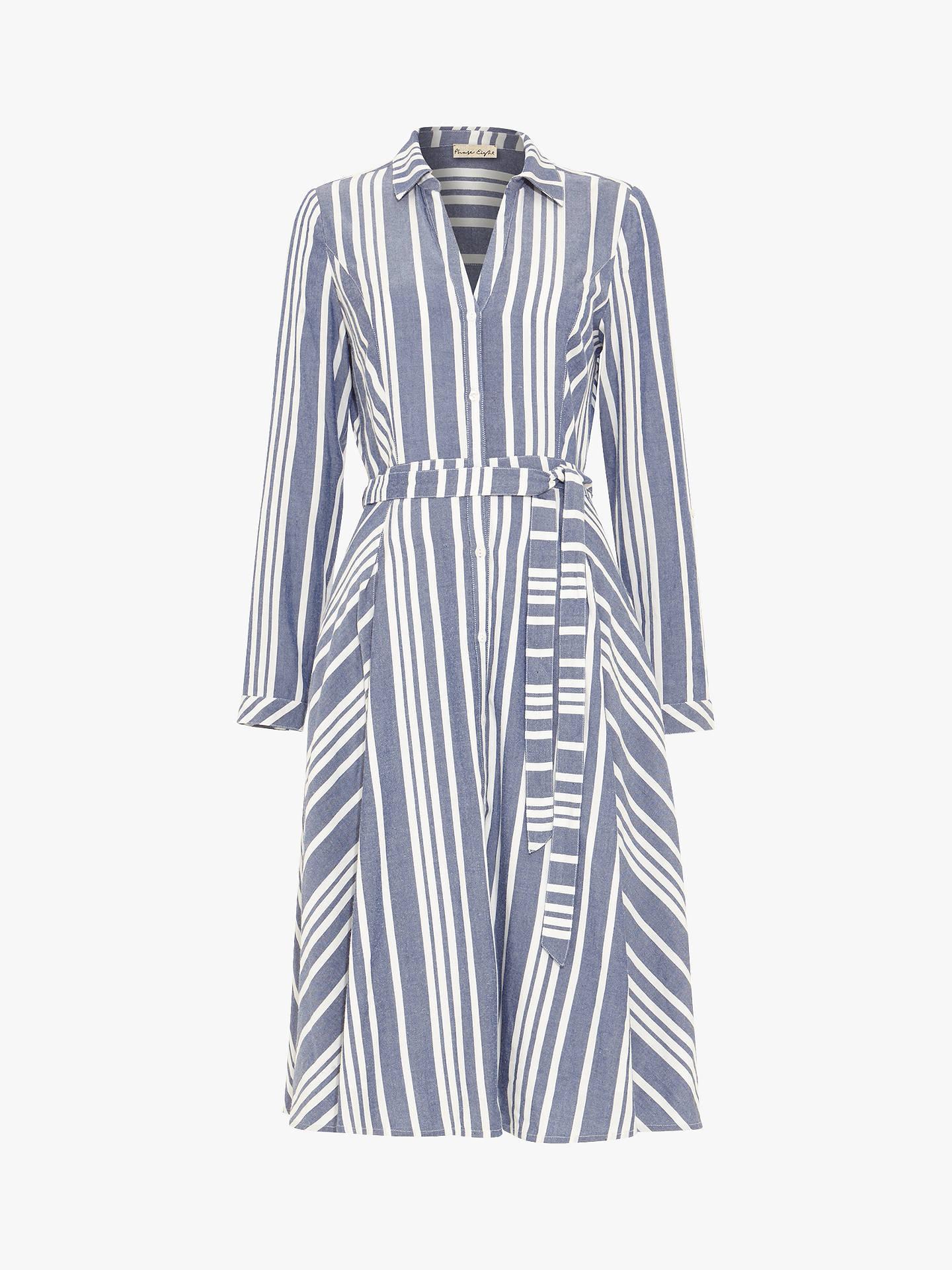 3ca0a7b1371b Buy Phase Eight Willa Stripe Shirt Dress