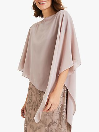 Phase Eight Sinead Asymmetric Cover Up, Latte