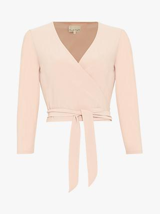 Phase Eight Monika Ballet Wrap Top, Cameo