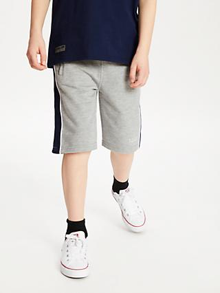 Anonimasu Boys' Panel Shorts, Grey