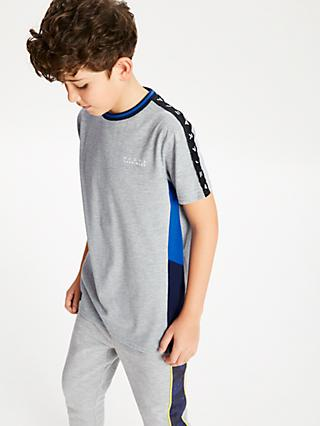 Anonimasu Boys' Side Stripe T-Shirt, Grey