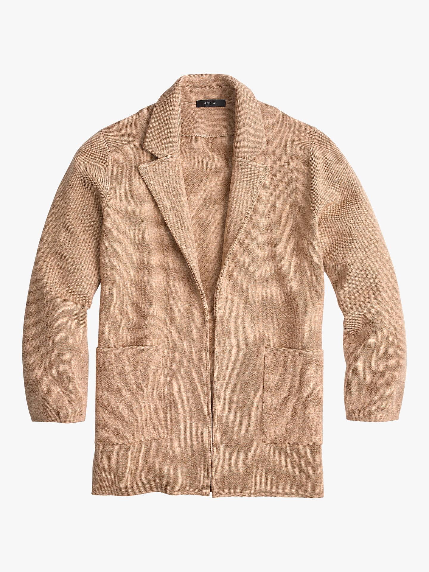 jcrew-sophie-open-front-sweater-blazer,-heather-khaki by jcrew