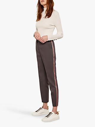 25385346f568 Mint Velvet Side Stripe Capri Trousers