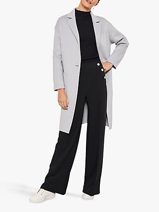 Mint Velvet Unlined Split Seam Coat