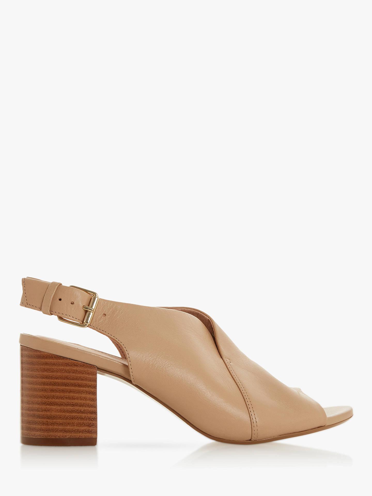 3556674f6f5 Dune Ignus Block Heel Slingback Sandals at John Lewis   Partners