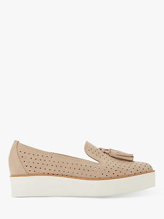 bb54f40796e3 Dune Gennifer Tassel Flatform Loafers