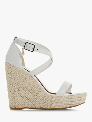 5eb638cbd473d Dune Kristel High Wedge Sandals