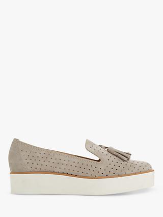 f9a37150083 Dune Gennifer Tassel Flatform Loafers