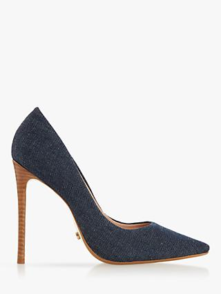 Dune Arianah High Heel Pointed Court Shoes
