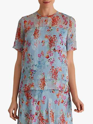 Fenn Wright Manson Tallulah Top, Blue Floral