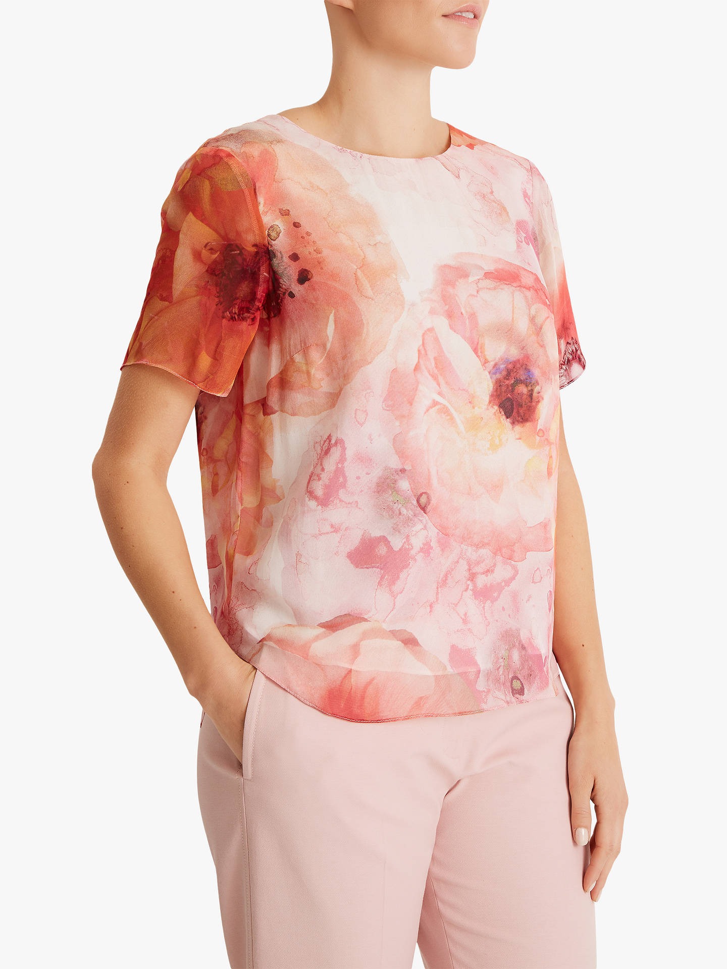 Fenn Wright Manson Petite Floral Ginger Top, Peony by Fenn Wright Manson