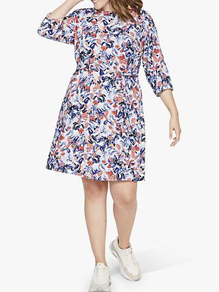 5764512a53af JUNAROSE Curve Canta Keenan Floral Shift Dress