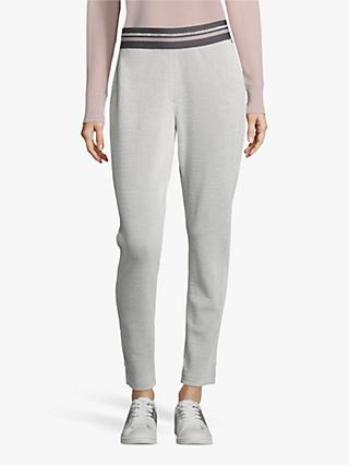 Betty & Co. Stretch Jersey Trousers, Silver/White