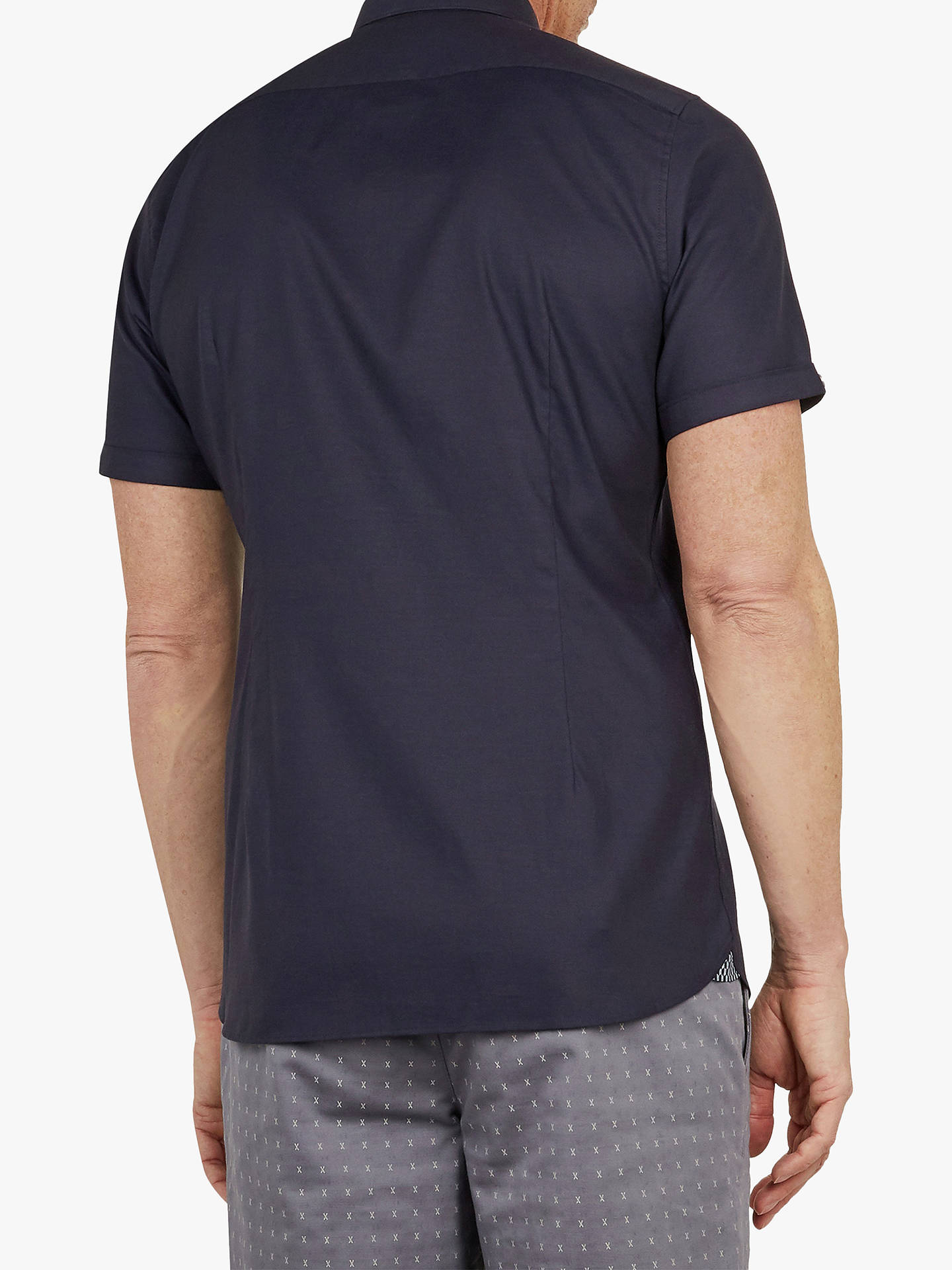 235febc7a Ted Baker T for Tall Wallatt Short Sleeve Shirt at John Lewis   Partners