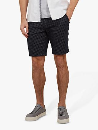 Ted Baker Italie Printed Shorts, Navy