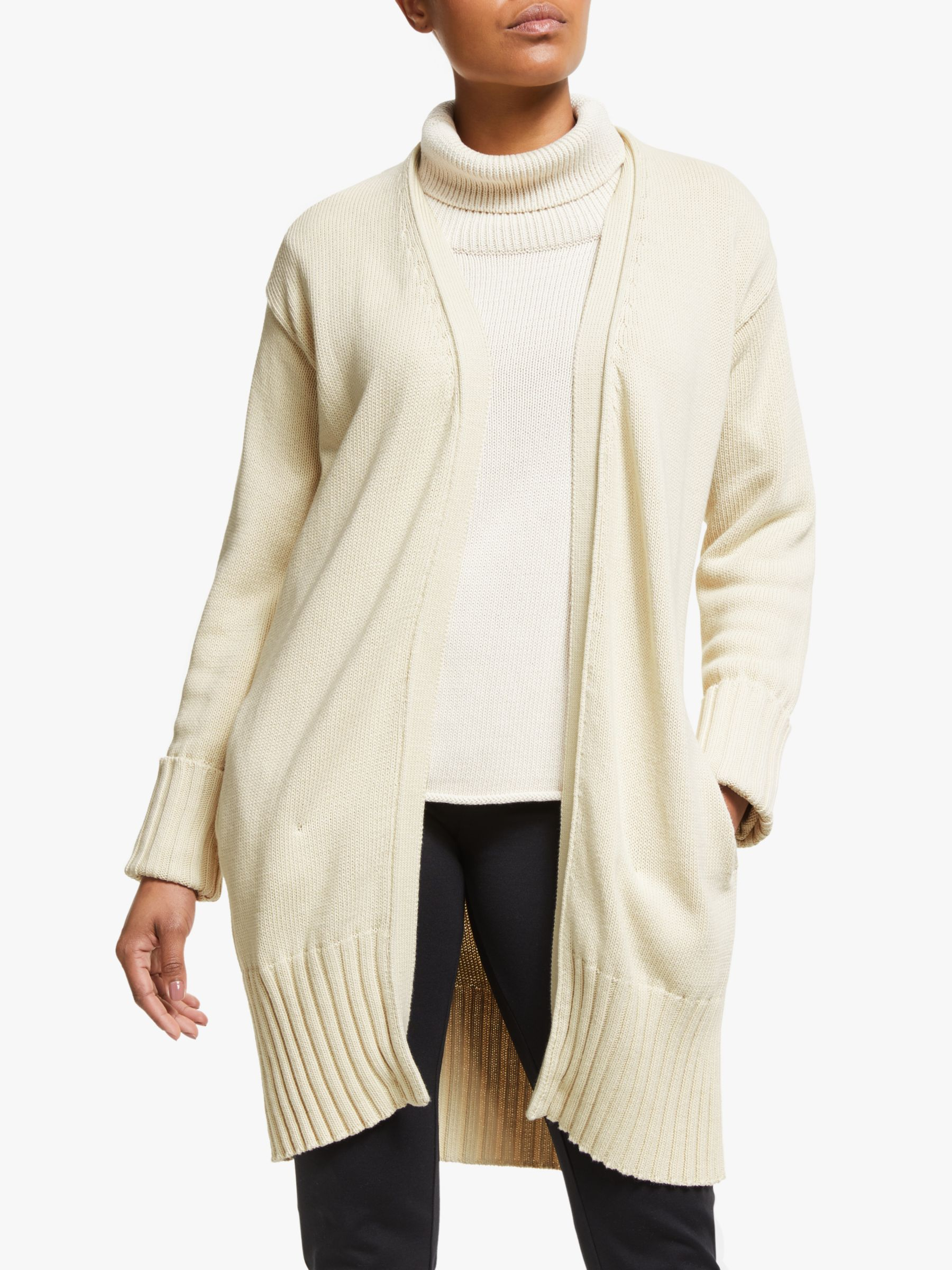 Winser London Winser London Cotton Ribbed Cardigan