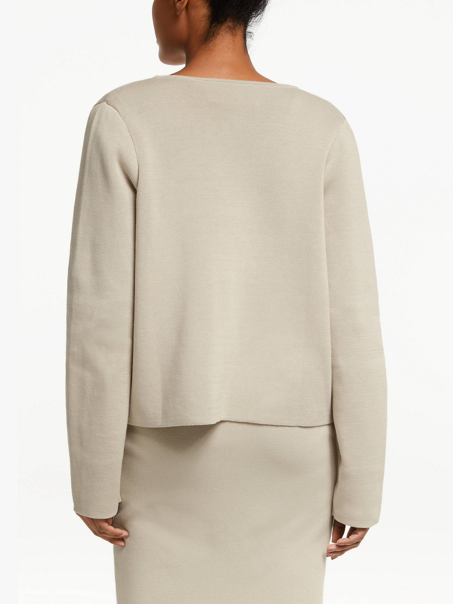 Buy Winser London Milano Cotton Jacket, Stone, M Online at johnlewis.com