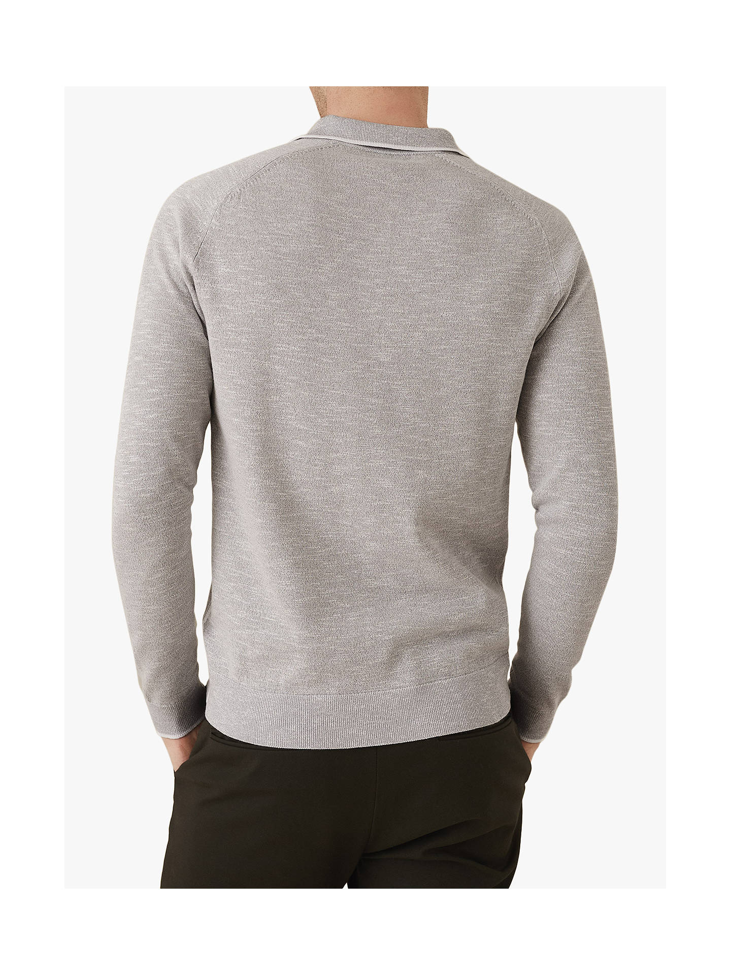 687776730 Buy Reiss Earlsfield Long Sleeve Tipped Polo Shirt