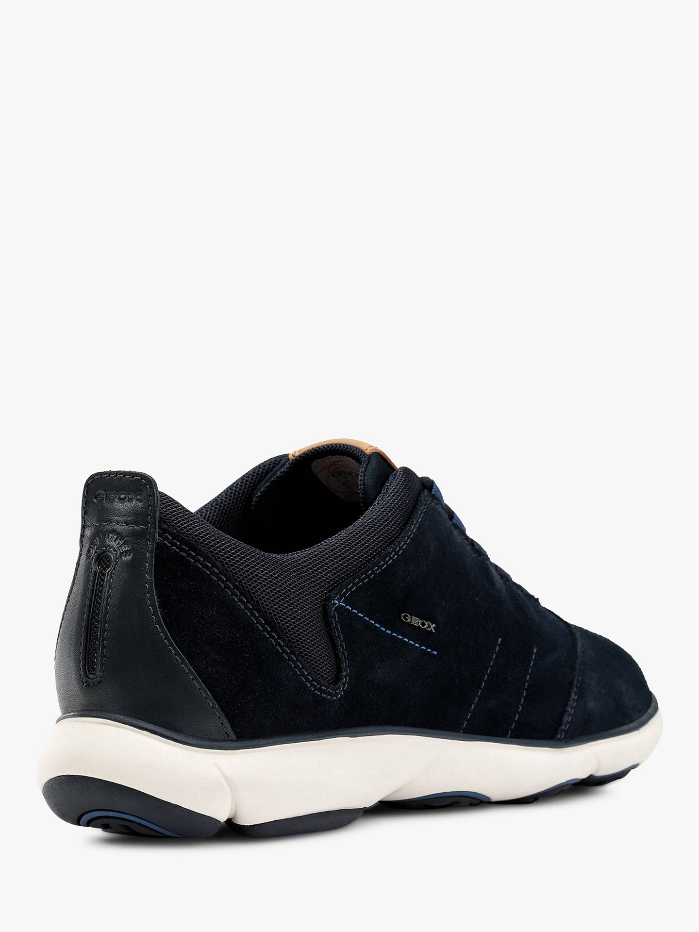 ca04eab12a ... Buy Geox Nebula 3D Breathing Trainers, Navy, 10.5 Online at johnlewis.com  ...