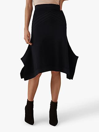 41f2a2145c21 Reiss Gabriella Knitted Midi Skirt