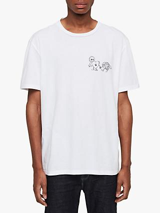 AllSaints Peeps Graphic Crew Neck T-Shirt