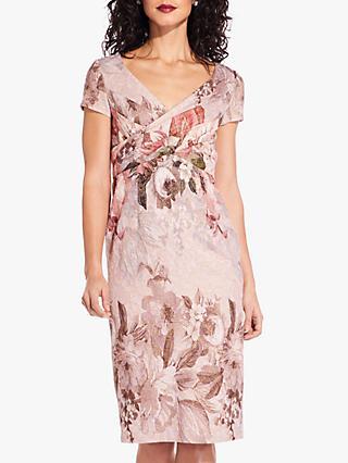 fee058404cf Adrianna Papell Border Short Dress