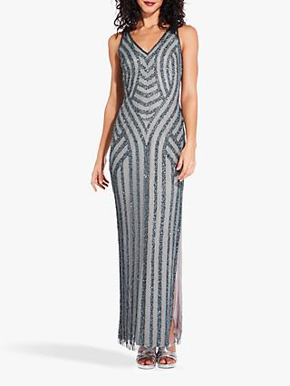 78a5f7b2fe Adrianna Papell Sequin Overlay Dress