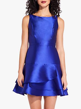 Adrianna Papell Jacquard Party Dress, Neptune