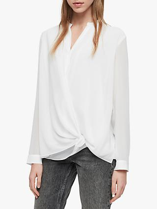 AllSaints Nova Shirt, Chalk White