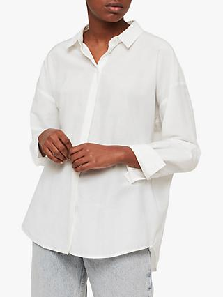AllSaints Ava Shirt, Chalk White