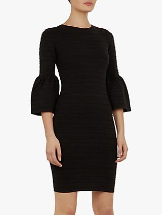 Ted Baker Yansiaa Bell Dress, Black