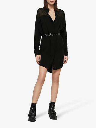 AllSaints Helle Dress, Black