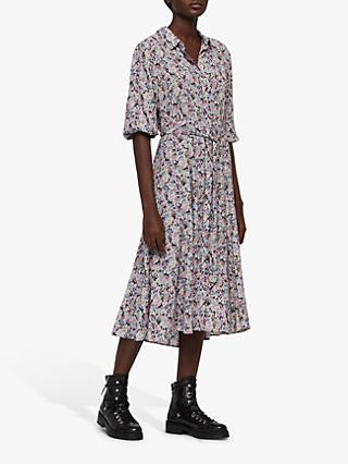 d4ef752cbf0a AllSaints Chiara Sketch Shirt Dress