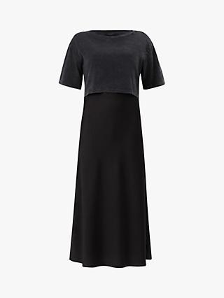 Long Black Cotton Dress