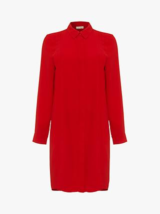 Phase Eight Dolunay Shirt Dress, Red