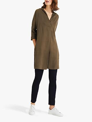 Phase Eight Kathy Tunic Dress, Khaki