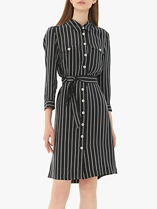 Gerard Darel Garlonna Dress, Navy/White