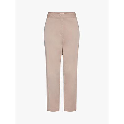 Gerard Darel Tailored Cotton Blend Trousers, Beige