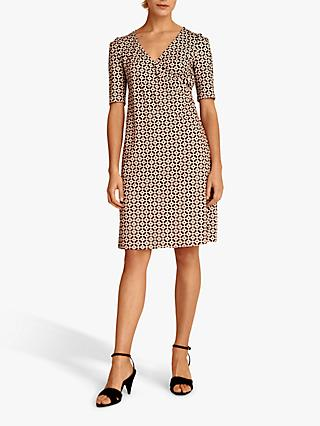 Gerard Darel Geier Geometric Pattern Dress, Multi