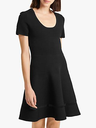 French Connection Voletta Dress, Black