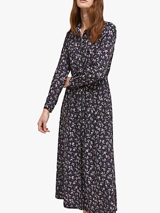 f3a8f32211 French Connection Felicienne Drape Shirt Dress